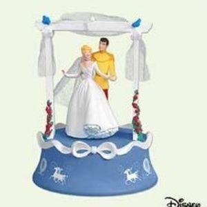 Cinderella Wedding 2005 Disney Musical Ornament